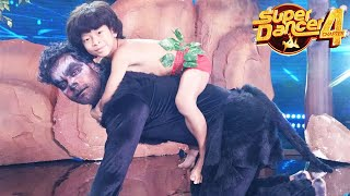 Super Dancer 4 | Vaibhav Bana Bhalu Aur Soumit Bana Mowgli, Full Masti Performance