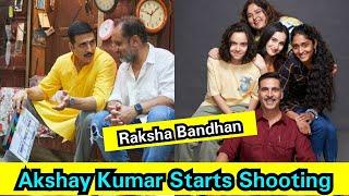Raksha Bandhan Shooting Starts Today In A Grand Way,Akshay Kumar Dedicated This Film To Sister Alka