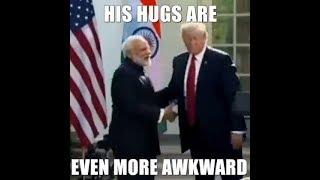 PM Modi! Hugplomacy कांग्रेस ने वीडियो ट्वीट कर पीएम मोदी का बनाया मजाक...