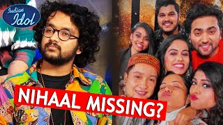 Indian Idol 12 Ke Group Picture Se Nihal Tauro Missing, Kya Hua? ???? Indian Idol Fans Pareshan