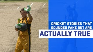 Cricket Facts That Sound Fake But Are Actually True   Best Cricket Stories