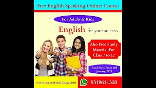 English speaking course Day 6|Free English online course|