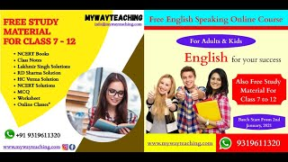 English speaking course day 7