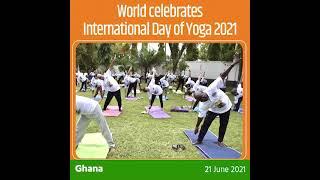 World celebrates International Day of Yoga 2021! #YogaForWellness