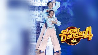 Super Dancer 4 | Arshiya Aur Super Guru Anuradha Ka Dhamakedar Performance