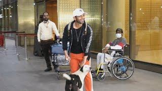 Rahul Vaidya Returns From Capetown, Spotted At Mumbai Airport | Khatron Ke Khiladi 11
