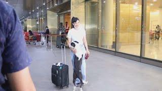 Shweta Tiwari Returns From Capetown, Spotted At Mumbai Airport   Khatron Ke Khiladi 11