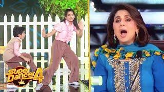 Super Dancer 4 Promo | Super Guru Vartika Aur Sanchit Ka FANTATIC Performance | Rishi Kapoor Special