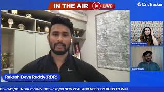 WTC Final Day 6 : India v New Zealand Mid Innings Analysis With CricTracker & Cricket Analysts