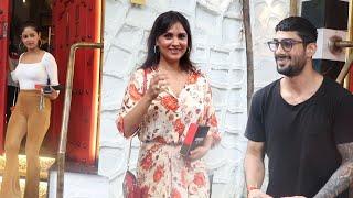 Lara Dutta, Pratik Babbar, Kunal Kohli & Meera Chopra Snapped At Tori Restaurant Bandra