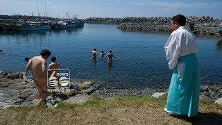 japans men only okinoshima island