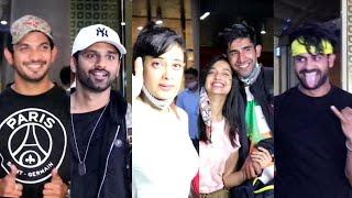 Rahul Vaidya,Shweta Tiwari,Arjun Bijlani,Vishal Singh,Varun Sood Back From Khatron Ke Khildi Shoot