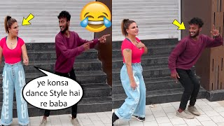 Rakhi Sawant Teaching dance to Her Fan Very Funny Video of Rakhi Sawant ???? ????