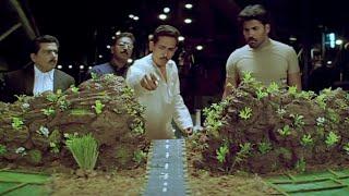 Krack Malayalam Movie Scenes   Atul Kulkarni Plan For Factory In Village   Ravi Teja   Charmee