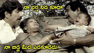 నిడ కూడా నా బిడ్డ మీద పడకూడదు | Gopichand Trisha Telugu Movie Scenes | Sathyaraj