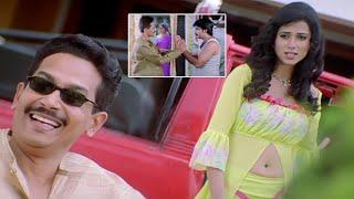 Krack Malayalam Movie Scenes   Atul kulkarni Visits Ravi Teja House   Charmee   Daisy Bopanna