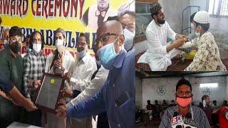 Kam Kharch Mein Ilaj Karne Par Award Se Nawaza Gaya | Amru Bhai Jarrah | Hyderabad | SACH NEWS |
