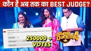 Super Dancer 4 | Kaun Hai BEST Judge? | 250K + Votes | Shilpa Shetty, Geeta Kapoor, Anurag Basu