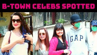 B-Town Celebs Spotted In Mumbai   Catch News