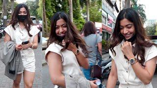 National Crush Rashmika Mandanna Killer Smile & Super Cute Expression what a Smile ????