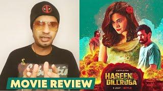 Haseen Dillruba REVIEW | Taapsee Pannu, Vikrant Massey, Harshvardhan Rane