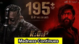 KGF Chapter 2 Teaser Crosses 195 Million Views In Less Than 7 Months, Next Target Is 200 Million