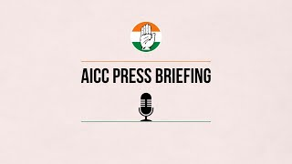 LIVE: Congress Party Briefing by Pawan Khera at Congress HQ