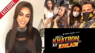 Khatron Ke Khiladi 11 - Mahek Chahal Talks On Her Darr, Bond With Divyanka, Rohit Shetty & More...