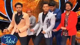 Indian Idol 12 Ke Set Par Dekhiye Kaise Masti Karte Hai Aditya Narayan, Pawandeep, Danish