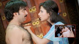 Krack Malayalam Movie Scenes | Daisy Bopanna Kisses Ravi Teja | Charmee