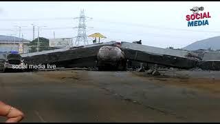Visakhapatnam Flyover | social media live