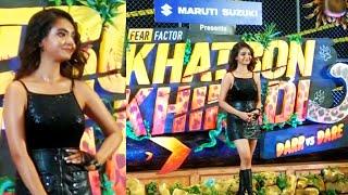 Anushka Sen Grand Entry At Khatron Ke Khiladi 11 Launch