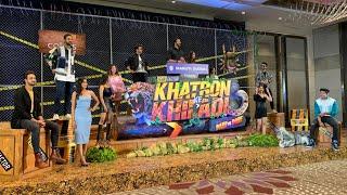 Rohit Shetty And Contestants At Khatron Ke Khiladi 11 Grand Launch