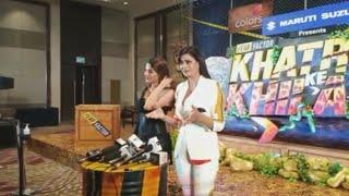 Shweta Tiwari & Nikki Tamboli Interview At Khatron Ke Khiladi 11 Launch
