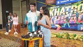 Varun Sood And Sana Makbul Interview At Khatron Ke Khiladi 11 Launch