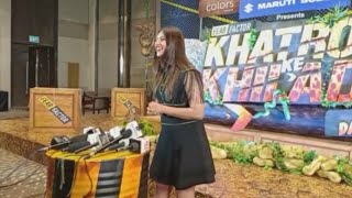 Divyanka Tripathi Interview At Khatron Ke Khiladi 11 Launch