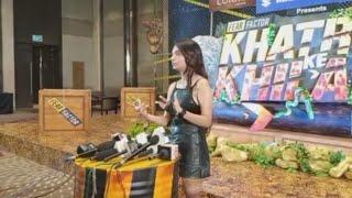 Anushka Sen Interview At Khatron Ke Khiladi 11 Launch