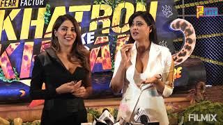 Shweta Tiwari & Nikki Tamboli - Full Interview - Khatron Ke Khiladi Season 11 Launch