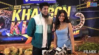 Varun Sood & Sana Makbul - Full Interview - Khatron Ke Khiladi Season 11 Launch