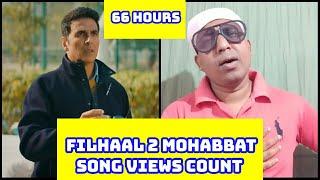 Filhaal 2 Mohabbat Song Views Count In 66 Hours, Akshay Kumar Ka Ye Gaana 100 Million Ke Karib