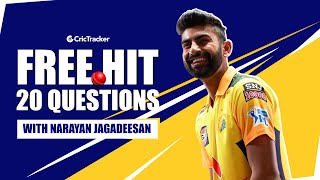 What would you steal from Virat Kohli? Naughtiest CSK Teammate?   Freehit with N Jagadeesan   Ep- 17
