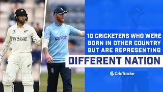 10 Cricketers Who Played For Other Country | Cricketers Who Didn't Represent Their Born Country