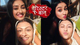 Barrister Babu | Badi Bondita Aur Maa Sumati Ka REAL LIFE Bond Dekhiye, Behind The Scenes
