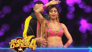 Super Dancer 4 NEW Promo   Badshah Ke Sath Shilpa Shetty Ne Kiya GENDA PHOOL Par Performance