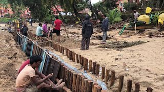 Wall on the beach- Villagers to launch a massive moment if wall is not demolished by 16th