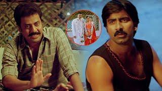 Krack Malayalam Movie Scenes | Raja Ravindra Return Backs From Army and Marries Ravi Teja Sister