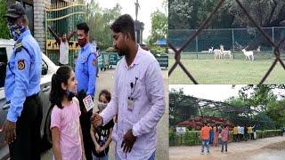Lockdown Ke Bad Aaj Khula Nehru Zoological Park   Exclusive Report By SACH NEWS   Hyderabad  