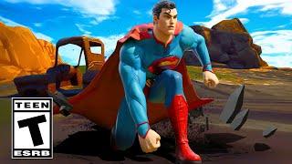 FORTNITE SUPERMAN ANNOUNCE TRAILER