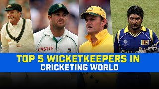 5 Best Wicket Keepers of All Time | Top 5 Greatest Wicket Keepers in the Cricket World