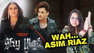 Sky High Song | Reaction | Asim Riaz Ft. Himanshi Khurana & Umar Riaz | Latest Rap Song 2021